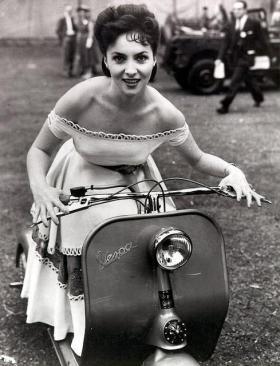 L'attrice italiana Gina Lollobrigida - Giugno 1952