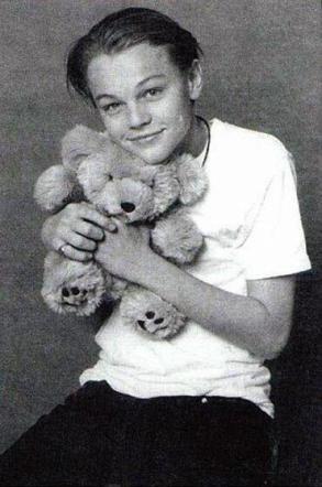 Leonardo Di Caprio e il suo teddy bear