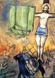 Marc Chagall, Crocifissione Gialla