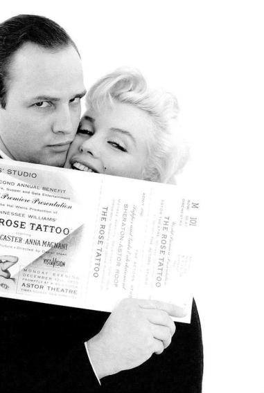 Marlon Brando e Marilyn Monroe