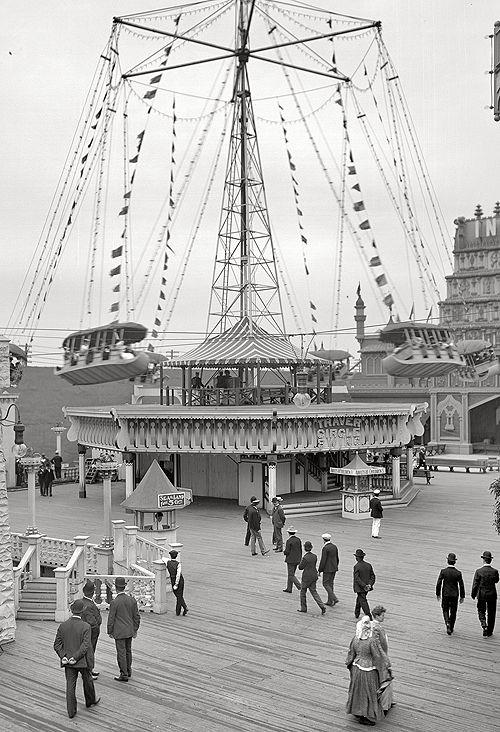 New York circa 1905. Luna Park a Coney Island