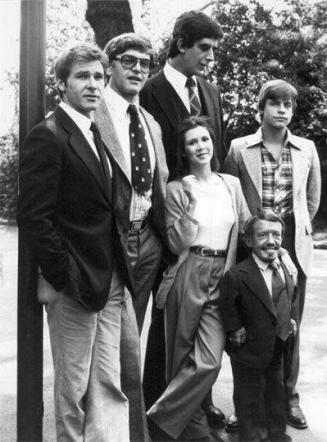 Il cast originale di Star Wars