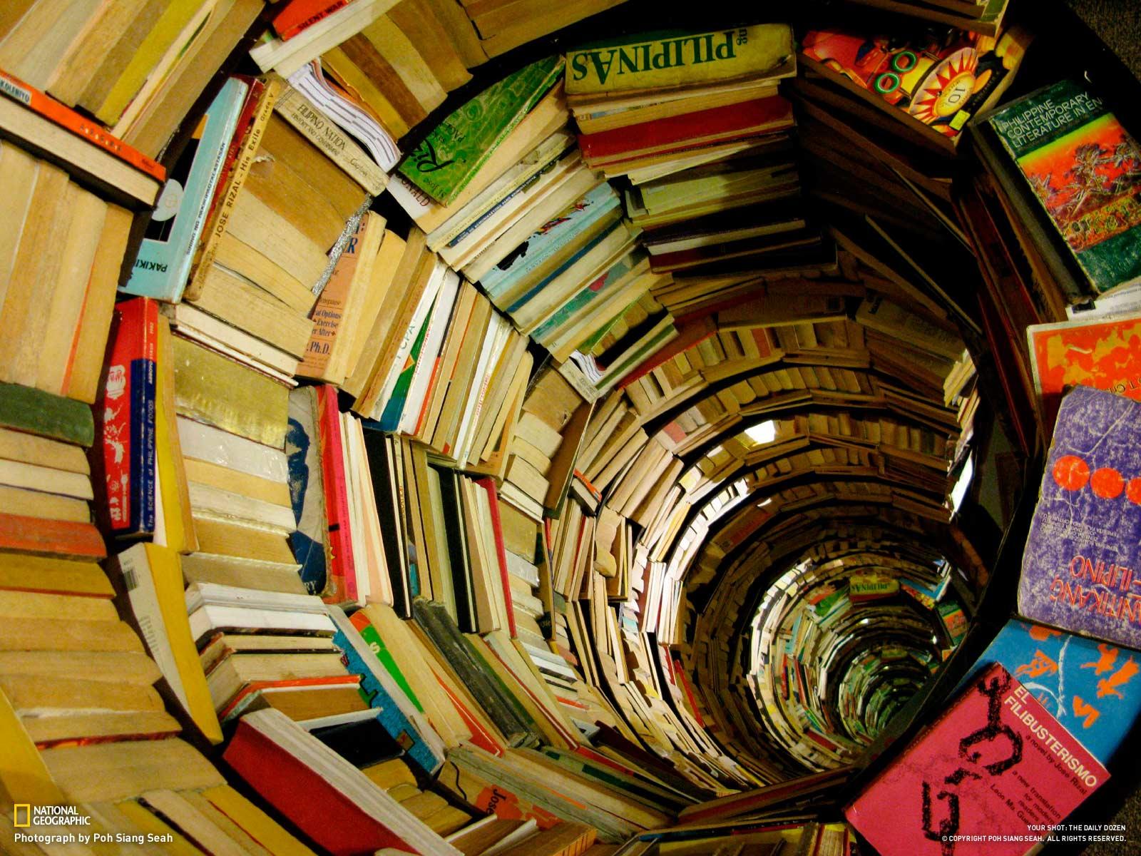 """Book tunnel"" del fotografo Poh Siang Seah"