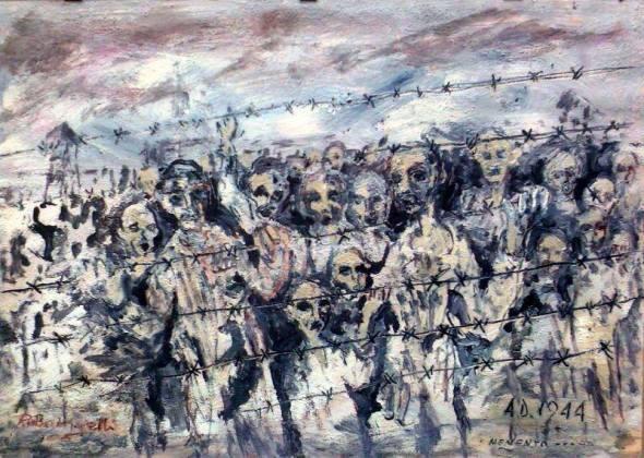 Riccardo Battigelli - Per non dimenticare (Shoah, 1944)