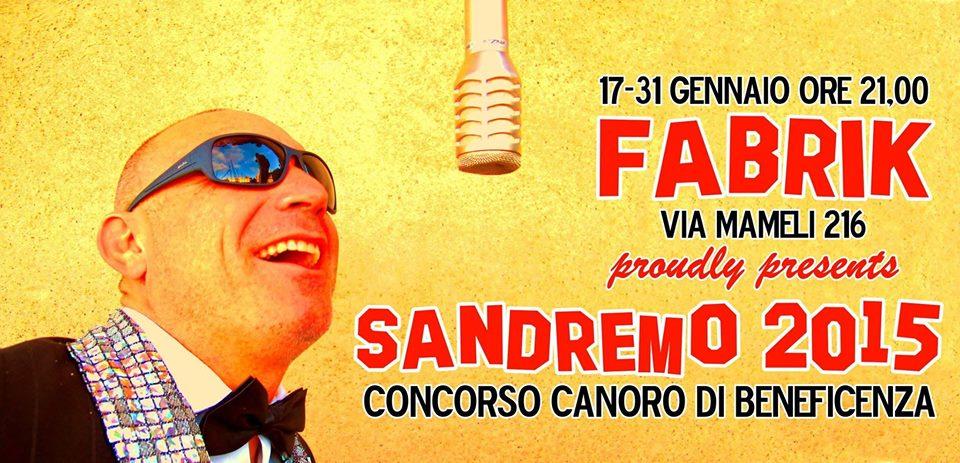 Sandremo 2015 - Locandina