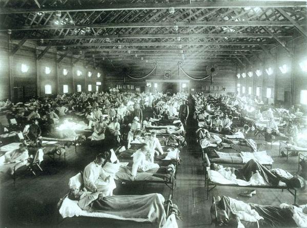Influenza spagnola, 1919