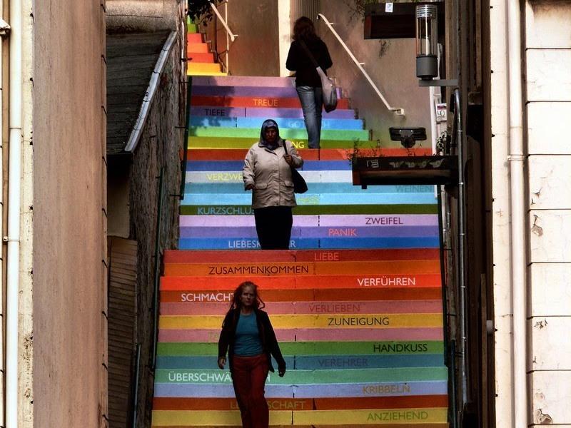 The Holsteiner Stairs