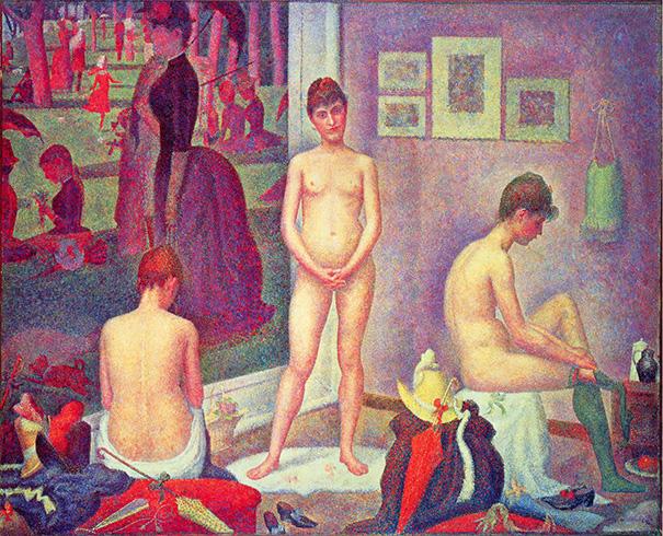 "Ursus Wehrli - Georges Seurat ""Les Poseuses"" (Pointillism)"