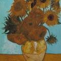 "Ursus Wehrli –  Vincent van Gogh ""Sunflowers"""