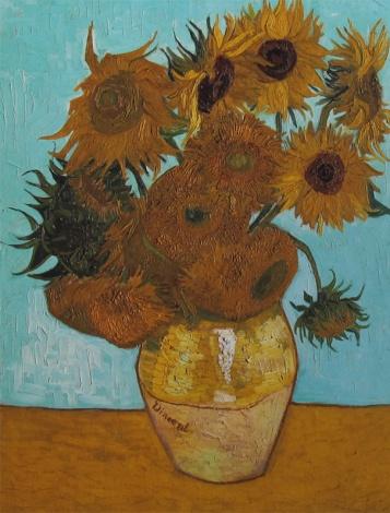 "Ursus Wehrli - Vincent van Gogh ""Sunflowers"""