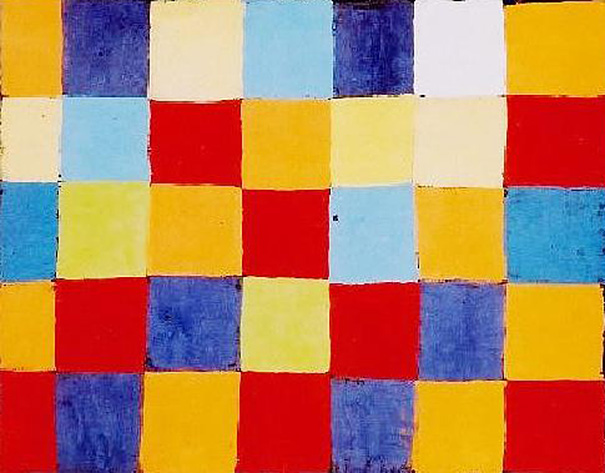 """Ursus Wehrli - Paul Klee """"Farbtafel"""""""