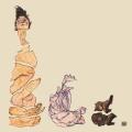 "Ursus Wehrli – Egon Schiele ""Reclining Female Nude"""