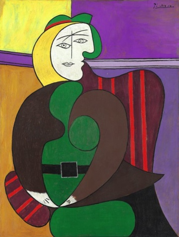 """Pablo Picasso """"The Red Armchair"""""""