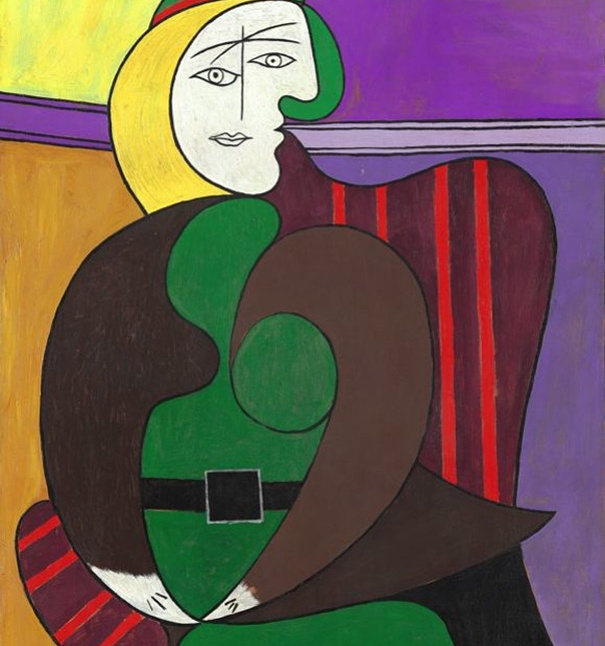 "Pablo Picasso ""The Red Armchair"""