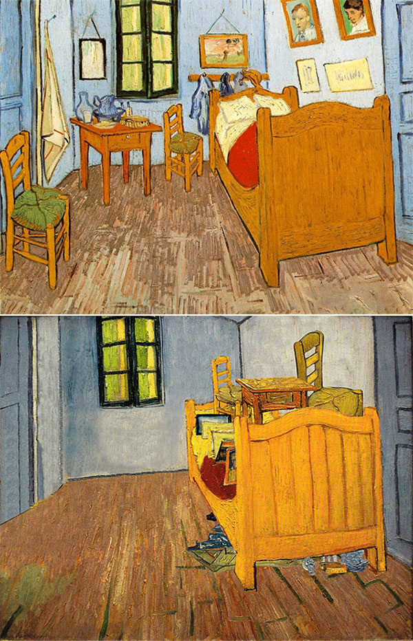 "Ursus Wehrli - Vincent Van Gogh ""Bedroom in Arles"""