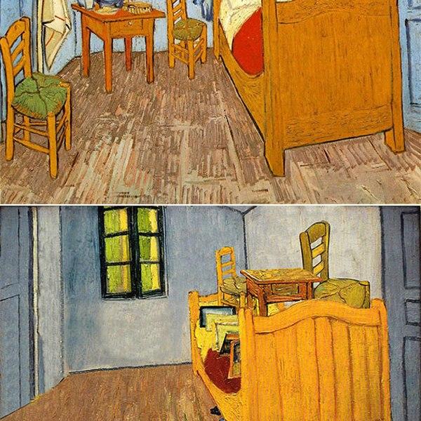 "Ursus Wehrli - Vincent Van Gogh ""Bedroom in Arles"""