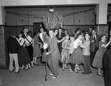 1956 San Valentino, scuola di danza - Adolph B. Rice Studio