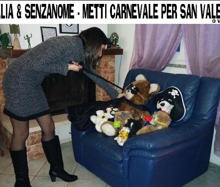 6. Clelia e SenzaNome - Metti Carnevale per San Valentino (o viceversa)
