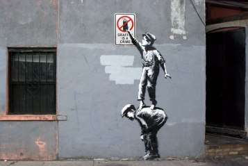 """Banksy Does New York"" by Chris Moukarbel"