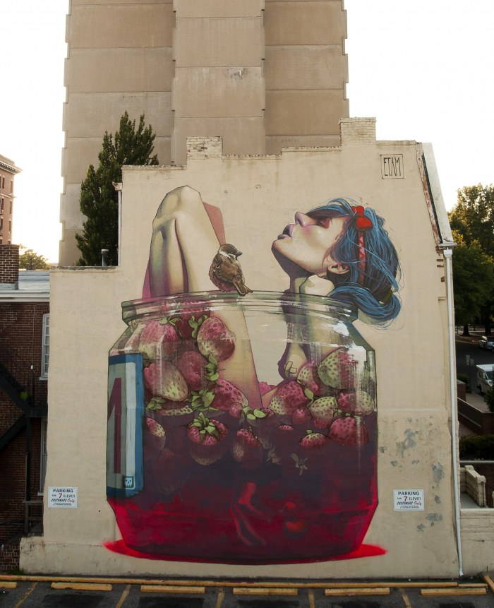 Streetart With Love – Il surrealismo urbano del duo Etam Cru