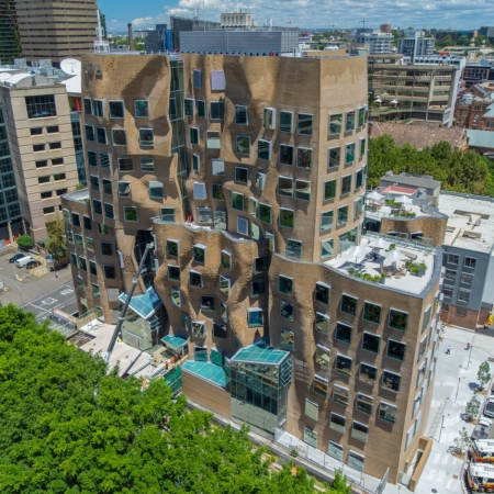 Nuova opera a Sydney dell'architetto canadese Frank Gehry