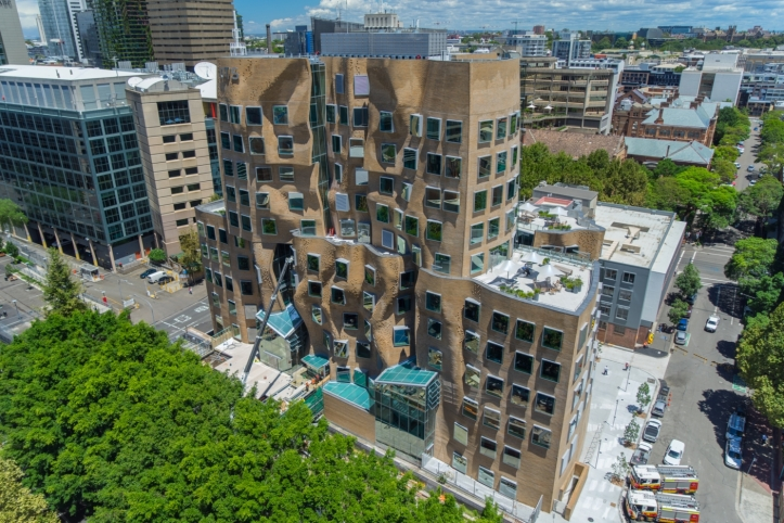 Nuova opera a Sydneydell'architetto canadese Frank Gehry
