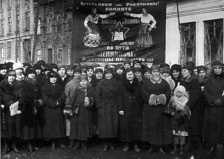 Giornata Internazionale della donna, Russia, 1924