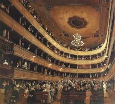 Gustav Klimt - Auditorium in the Old Burgtheater in Vienna, 1888