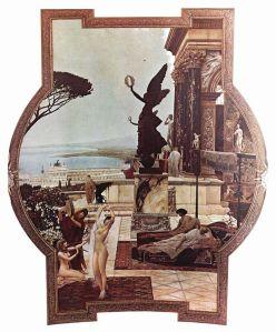 Gustav Klimt - Il Teatro Antico di Taormina, Burgtheater, Vienna