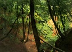 Gustav Klimt - Inside the Forest, 1884
