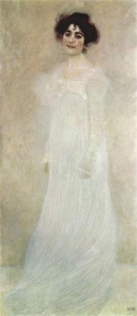 Gustav Klimt - Portrait of Serena Lederer, 1899
