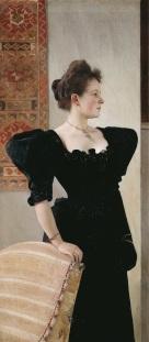 Gustav Klimt - Ritratto femminile 1894