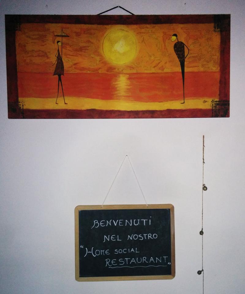 Home social restaurant Cagliari