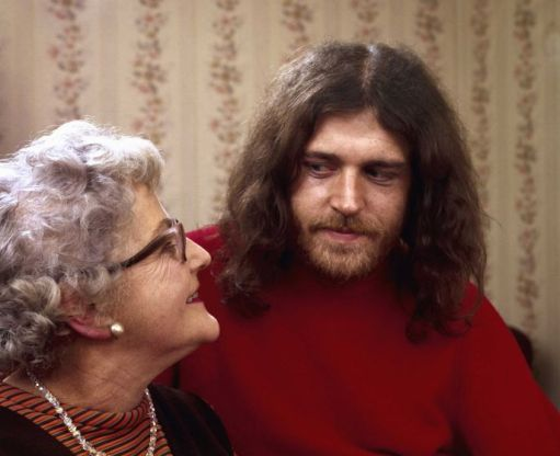 Joe Cocker con sua madre, 1970