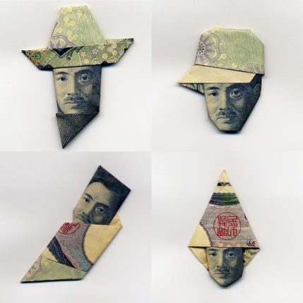 Moneygamidell'artista giapponeseHasegawa Yosuke
