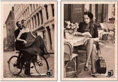 Vecchie cartoline di San Valentino