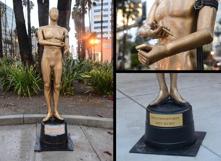 Plastic Jesus - Opera del 2014 dedicata agli Oscar