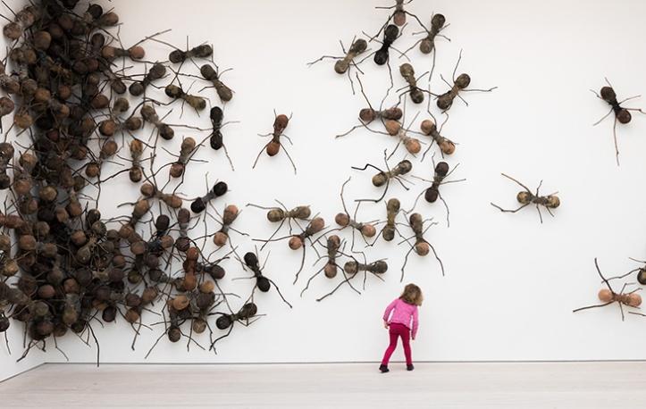 Installazionedell'artista colombianoRafael Gómezbarros