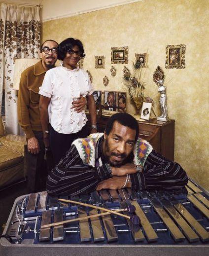 Richie Havens con i suoi genitori, Brooklyn, 1970