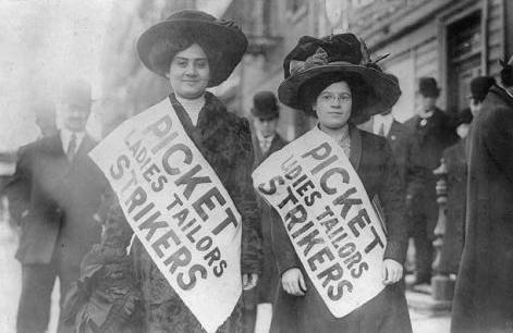 Sciopero delle camiciaie di New York, 1908