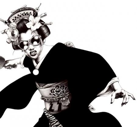 Operadell'illustratore giapponeseShohei Otomo, in arte Hakuchi
