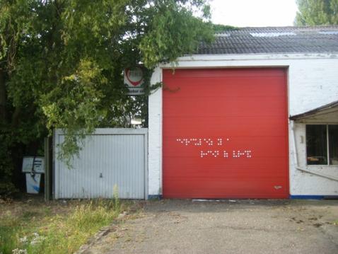 """The Blind - """"Circuler y'a rien a voir"""" - Douel - Belgique - 2009"""