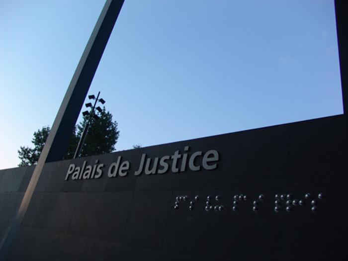 """The Blind - """"Pas vu, pas pris"""" - Palais de justice - Nantes - 2004"""