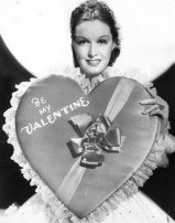 Foto vintage di attrici di Hollywood in posa per San Valentino