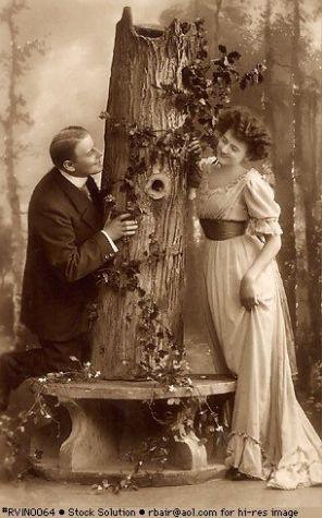 Foto vintage di San Valentino
