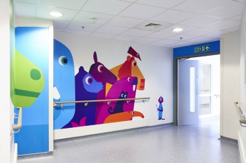 Il progetto di Vital Arts al Royal Children's Hospital di Londra