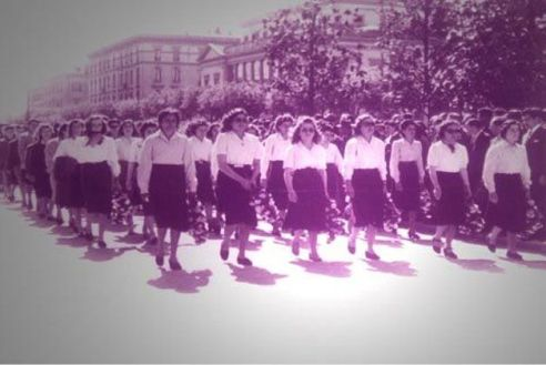 Manifestazione per la Giornata Internazionale della donna