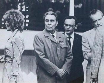 Brezhnev e Nixon