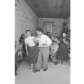 Carlo Bavagnoli – Costantino Nivola alla festa in occasione della mostra ad Orani, marzo 1958