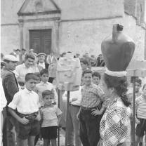 Carlo Bavagnoli - Mostra di Costantino Nivola ad Orani, marzo 1958